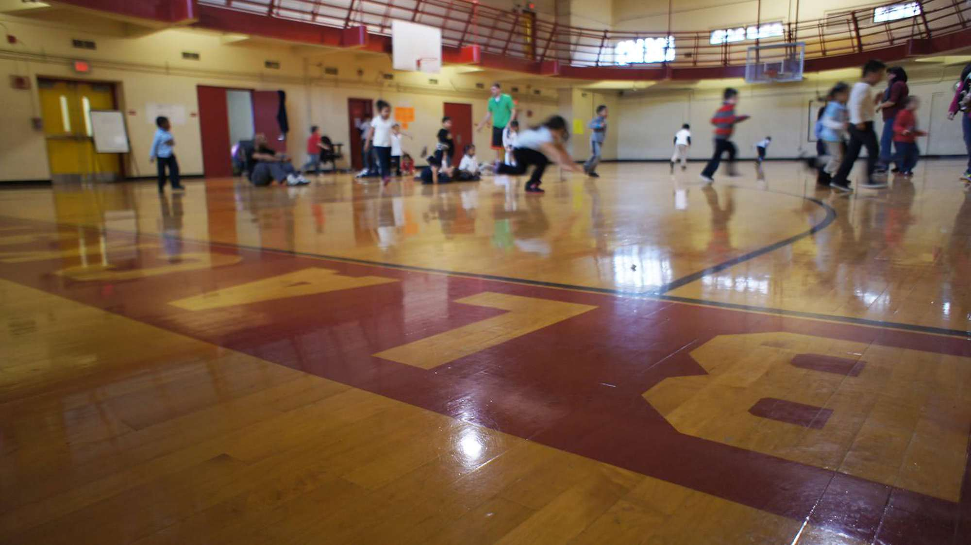 The Blackstone Community Center Gym