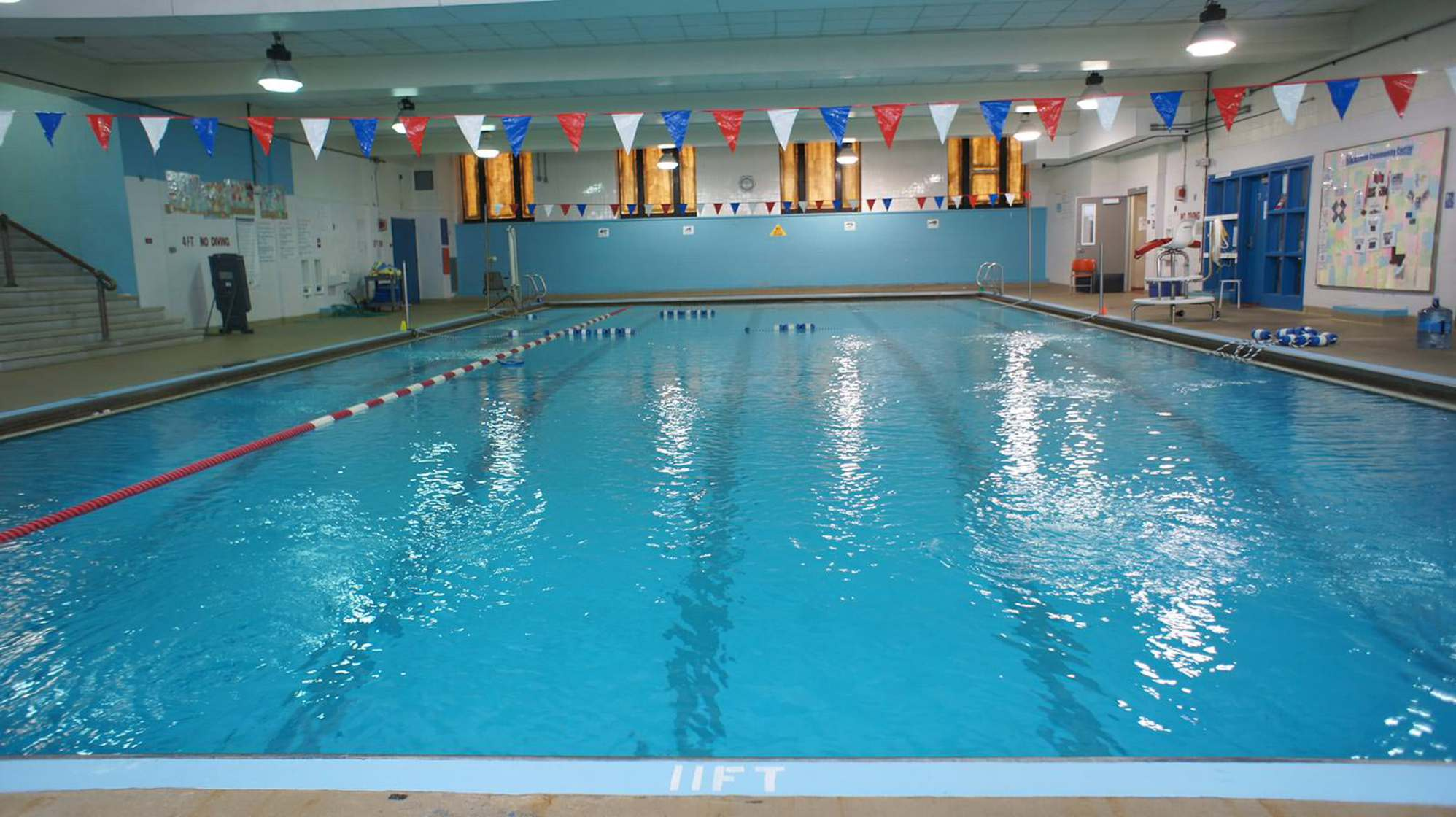 The Blackstone Community Center Pool